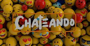 <p> Chateando</p>