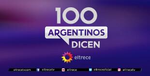 <p> 100 Argentinos dicen</p>