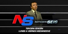 <p> Noticiero Seis Tercera Edici&oacute;n</p>