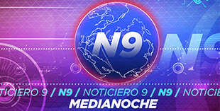 <p> Noticiero 9 Medianoche</p>